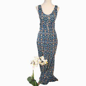 Anthro Vanessa Virginia Talassemtan Maxi Dress